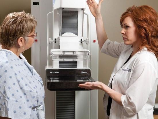 Процедура маммографии