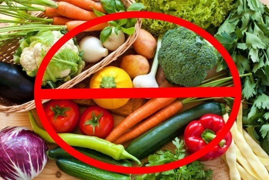 За три дня до исследования надо исключить свежие овощи