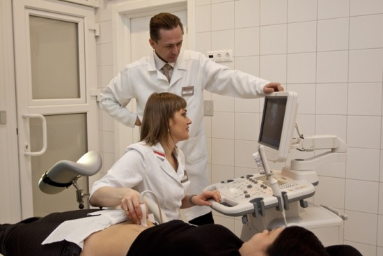 Трансабдоминальное гинекологическое УЗИ