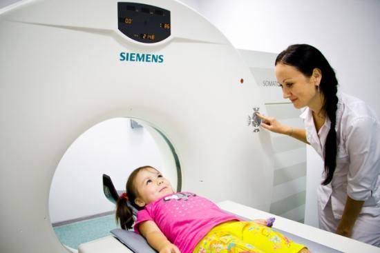 Проведение компьютерной томографии ребенку