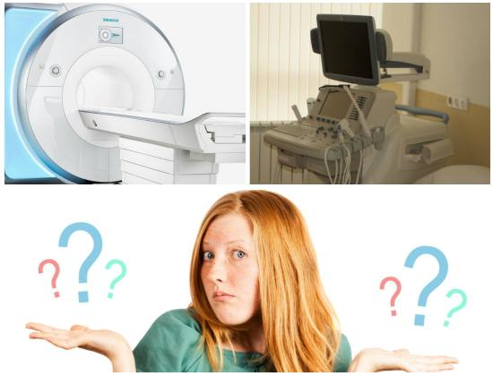 МРТ в отличии от УЗИ нежелательно делать женщинам в первый триместр беременности