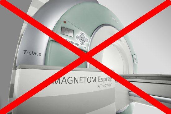 В некоторых случаях магнитно-резонансное исследование противопоказано