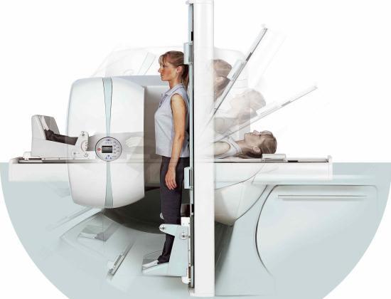Аппарат МРТ с наклонным столом