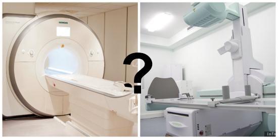 Магнитно-резонансная томография или рентгенография?