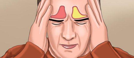 Воспаление лобной пазухи