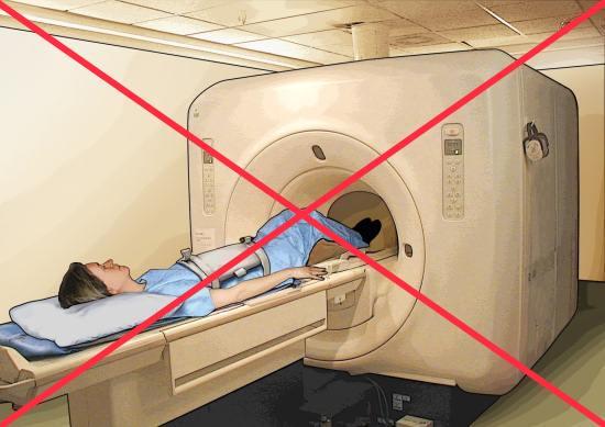Выделяют абсолютные и относительные противопоказания к МРТ