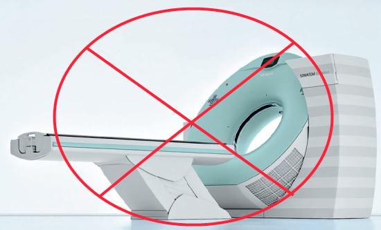 При некоторых состояниях компьютерную томографию делать нельзя
