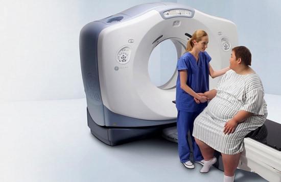 Диаметр кольца у разных моделей томографов варьируется