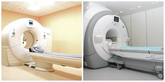 Компьютерный и магнитно-резонансный томографы