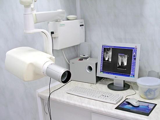 Специальная современная дентальная система для получения рентгеновского изображения