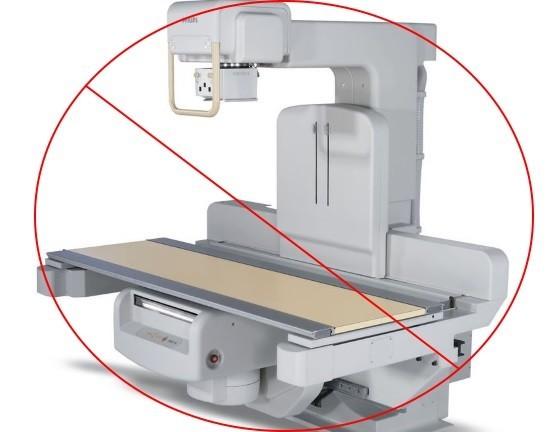 Определенным категориям лиц рентгенография проводится только по жизненным показаниям
