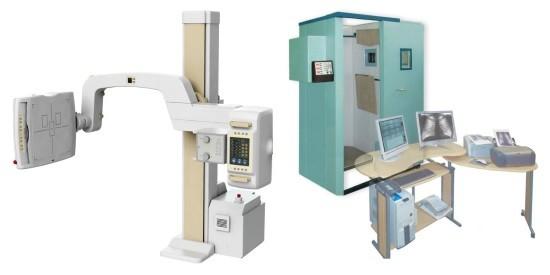 Рентген-аппарат и флюорограф