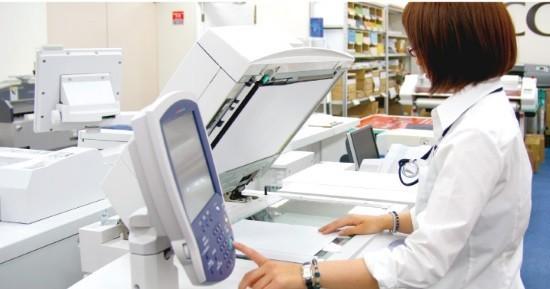 Сканирование рентген-снимка и вывод изображения на экран ПК