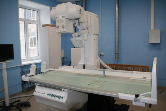 Рентген-кабинет в одной из поликлиник