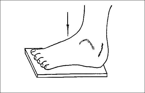 Методика рентгенологического исследования стопы для выявления плоскостопия