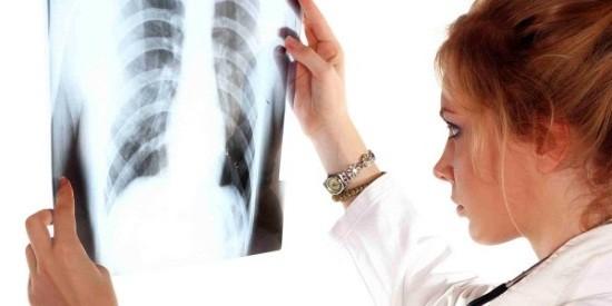 Снимок описывается врачом-рентгенологом