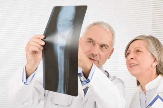 Рентгенограмма коленного сустава