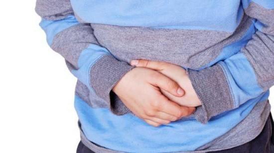 После приема бария могут возникнуть боли в области желудка