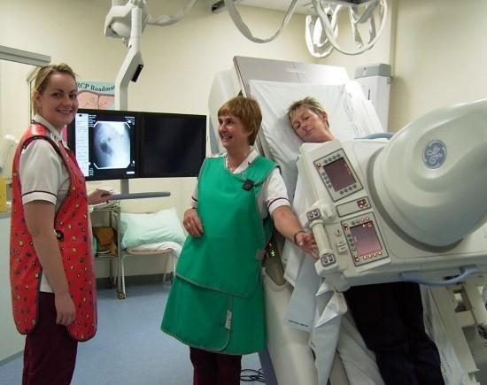 Рентгеноскопия предоставляет возможность изучения функционального состояния различных органов