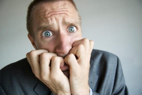 У мужчины нервно-психическое расстройство