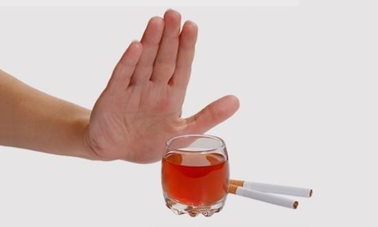 Табакокурение и распитие алкоголя перед процедурой недопустимы