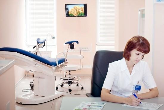В кабинете у гинеколога