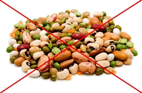 Бобовые относятся к продуктам, усиливающим газообразование