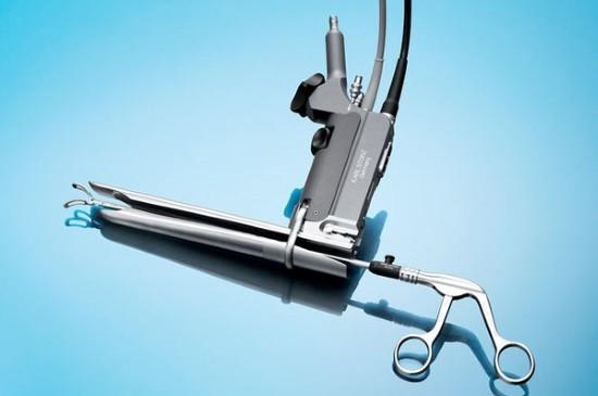 Медицинский эндоскоп для осмотра переднего средостения