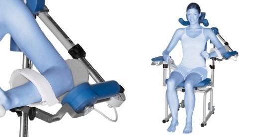 Инновационный прибор для непрерывной пассивной разработки плечевого сустава