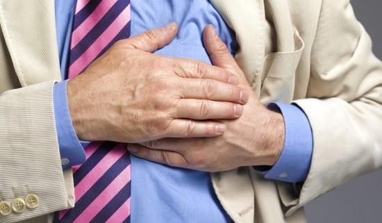 У мужчины приступ стенокардии