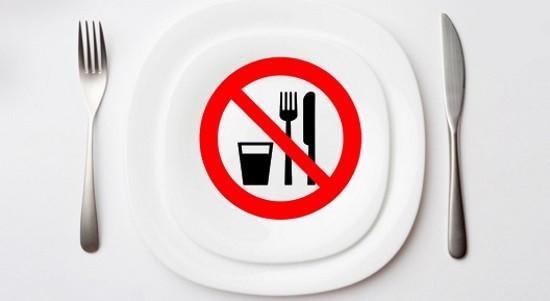 Исследование проводится на голодный желудок