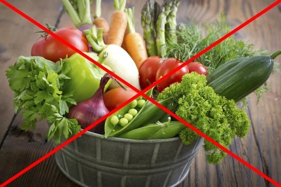 Следует отказаться от продуктов, богатых клетчаткой