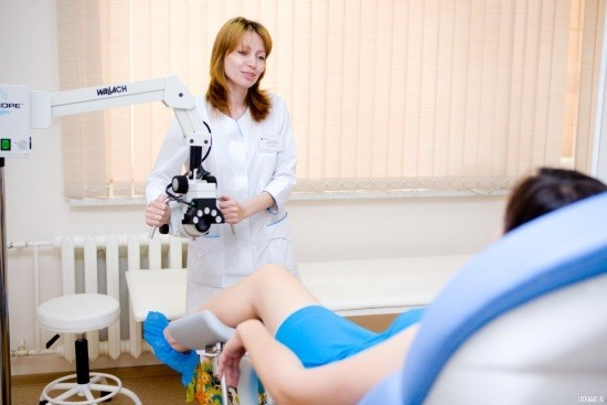 Процедура кольпоскопии
