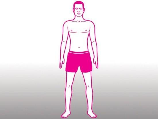 Наружный осмотр тела