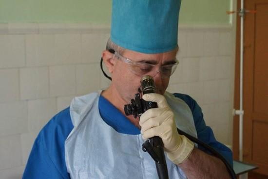 Ректосигмоскопия при помощи гибкого эндоскопа
