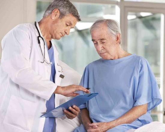 Консультация с врачом перед торакоскопией