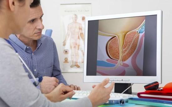 На консультации у врача-уролога