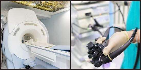 Магнитно-резонансный томограф и колоноскоп