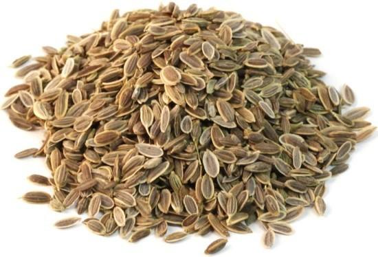 Укропное семя используется для борьбы с метеоризмом