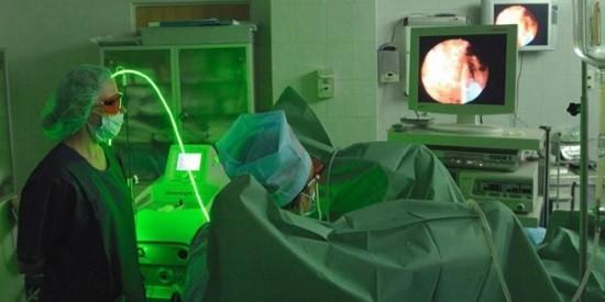 Эндоскопическое удаление аденомы простаты лазером