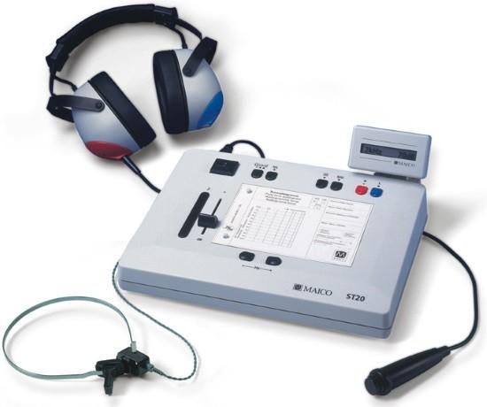Прибор для измерения остроты слуха