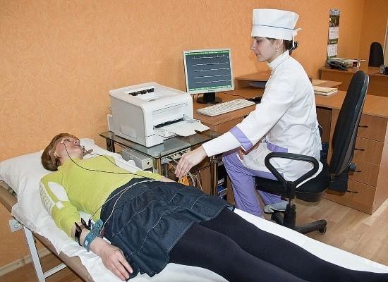 Процедура реоэнцефалографии