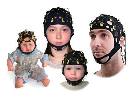 Шлемы с электродами для проведения ЭЭГ