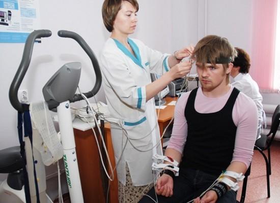 Проведение реоэнцефалографии