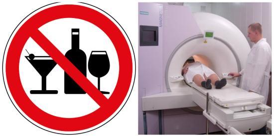 Алкоголь может исказить результаты МРТ головного мозга