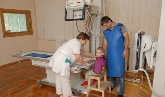 Подготовка к рентгенографии
