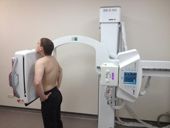Современный цифровой рентгеновский аппарат