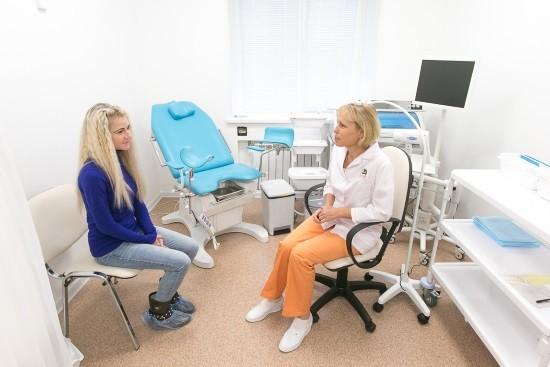 В кабинете гинеколога