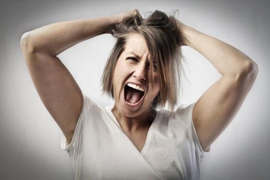 У женщины психоз