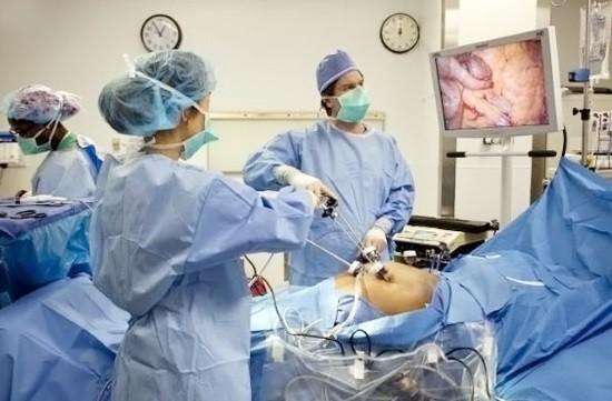 Проведение лапароскопии